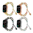 Luminous Pearl Strap Women Bracelet iWatch Band for Apple Watch Series 5 4 3 2 1 image