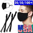 50 Pieces Sewing Elastic Band Cord With Adjustable Buckle, For Diy Mask Sewing