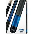 Viking Billiards Pool Cue Stick Black Blue Pearl Irish Linen Wrap ViKORE A403 $400.5 USD on eBay