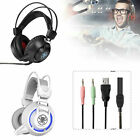 PC835 PS4 Gaming Headset Xbox One Headphone PC Earphone Stereo Bass with LED USA