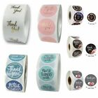 Round label Gift Paper Sticker Self Adhesive Sealing Craft Thank You Stickers