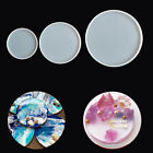 Arts Cup Mad Coaster Mold Round Jewelry Making Mould Epoxy Resin Casting Molds