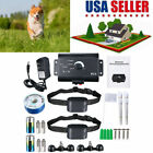 Quality Electric Dog Pet Fence System Waterproof Shock Collars For 2-3 Dogs USA