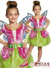 Tinker Bell Girls Costume Dress Kids Fairy Wings Dress Disney Child Party Outfit
