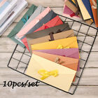 Bow Greeting Card Bags Ribbon Mailer Envelope Pearlescent Paper Envelop