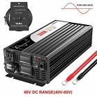 remote controller Pure Sine Wave power Inverter 2000W 12V 24V 48V to 120V