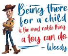 Toy Story Woody Vinyl Home Wall Decor Quotes Kids Bedroom Living Room Decoration