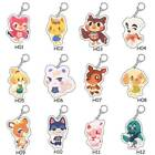 12 Styles Animal Keychain Cute Cartoon Animal Keyring Backpack Decor