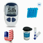 Glucometer Blood Glucose Monitor Diabetes Test Meter and 50 test strips $13.99 USD on eBay