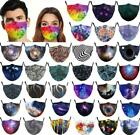 3d Unisex Reusable Washable Facemask Half Face Mouth Funny Face Protect Filter