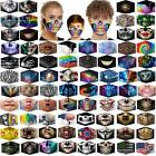 Unisex Reusable Washable Facemask Half Face Mouth Funny Face Protect +filter