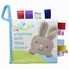 Soft Cloth Baby Learning Book Kid Intelligence Development Play Reading Animal