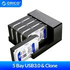 ORICO 2.5/3.5'' 2&5 Bay USB3.0 to SATA HDD Docking Station with clone function
