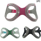 Rhinestone Adjustable Accessories Dog Harness Artificial Leather Safe Training