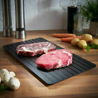 Fast Defrosting Tray Meat Thaw Rapid Safety Thawing Miracle Frozen Food Defrost!