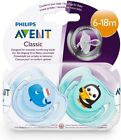 Philips Avent Bpa-Free Animal Soothers,0-18 Months,Whale and A Penguin Pack of 2