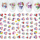 Nail Art Christmas Stickers Decal Nail Decoration Manicure 3D Halloween DIY