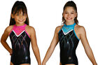 NEW Muse Gymnastics Leotard by Snowflake Designs - Fuchsia or Turquoise