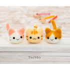 Twins Kitten Cat Easy Video  Japanese Wool Needle Felting KIT Hamanaka
