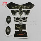 Universal Fit Motorcycle Gas Fuel Tank Pad Decals Devil Skull Protector Sticker