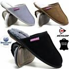 Ladies Leather Slippers New Womens Warm Faux Sheepskin Memory Foam Slip On Shoes