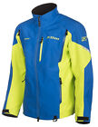 Klim Mens Blue/Lime Tomahawk Snowmobile Parka Jacket Non-Insulated Snow 2019