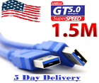 USB 3.0 A to A Cable Type A Male to Male Cable Cord for Data Transfer Hard Drive