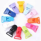 10Pcs Clips Pacifier Clips Soother Dummy Bib Suspender Paci Toy Holder BPA Free