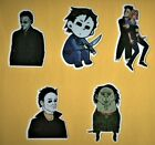 HALLOWEEN Stickers MICHAEL MYERS drama THRILLER psycho HORROR gore SLASHER