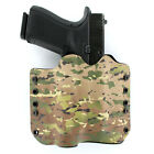 OWB Kydex Holster for Hanguns with Crimson Trace CMR 209 - MULTICAM