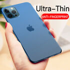 For iPhone 12 Pro Max 12 Mini Ultra Thin 0.2MM Shockproof Matte Hard Case Cover