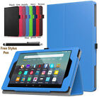 'Flip Magnetic Smart Leather Stand Case Cover Fr Amazon Kindle Fire Hd All 7/8/10