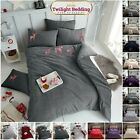 TEDDY FLEECE DUVET COVER Tartan Stag Soft Warm Double & King Size Bedding Set