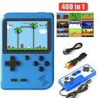 Handheld Video Game Console Built-in 400 Classic Games Mini Box for 2 Players