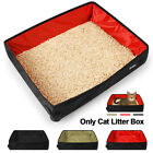 Folding Cat Little Box Oxford Cloth Travel Pan Waterproof Tray Home Collapsible