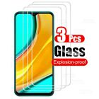 3X Full Tempered Glass For Xiaomi Redmi Note 9 8 7 9S Pro Screen Protector 8A 7A