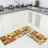Carvapet 2 Pieces Non-Slip Kitchen Rug TPR Non-Skid Backing Mat for Doorway Bath