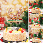 Decoration Dessert Decorations Cupcake Decor Cake Toppers Christmas Santa Claus
