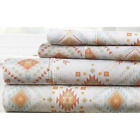 """Soft 4 Piece Bed Sheet Set 21 Patterns in all sizes, 18"""" Deep Pockets, No Piling"""
