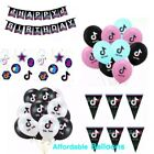 Tik Tok birthday party Decorations Tik Tok party supplies party balloons banners
