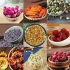 Edible Dried Flowers & Petals Tea Cooking Gin Tonic Coctail Hot Garnishes G3f1