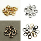 US 50 Pack Lobster Clasp Necklace Bracelets Jewelry Accessories DIY 10/12/14mm