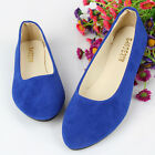 Women Pumps Slip On Flats Casual Shoes Comfy Winter Ballerina Ballet Dolly Shoes