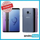 Samsung Galaxy S9 G960f 64gb Various Colours Unlocked Refurbished Smartphone