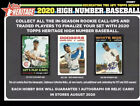 2020 TOPPS HERITAGE HIGH SERIES , YOU PICK, COMPLETE YOUR SET, FREE SHIPPING SP