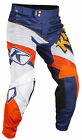 Klim Orange/Blue/White Mens XC Lite Dirt Bike Pants MX ATV Offroad Off-Road 2018