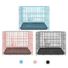 Folding Dog Cage Animals Pet Puppy Crate Kennel Playpen for Indoor Outdoor