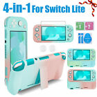 For Nintendo Switch Lite Carry Case Bag+Shell Cover+Screen Protector+TypeC Cable