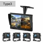 Recorder DVR Car Monitor Night Vision Camera Security Split Screen Vehicle Tools picture