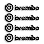Brembo Vinyl Decal Sticker Set Of 4 Free Shipping